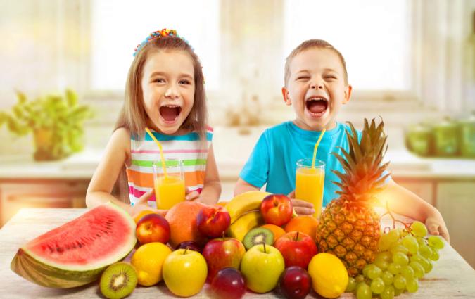 corretta alimentazione per la dieta dei bambini